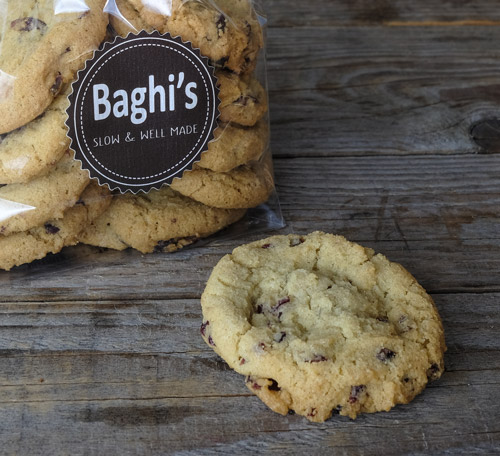 cookies mirtilli baghi's sacchetto